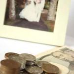結婚とお金イメージ